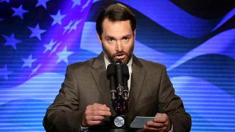 Presidential Candidate Tim Calhoun (Will Forte)