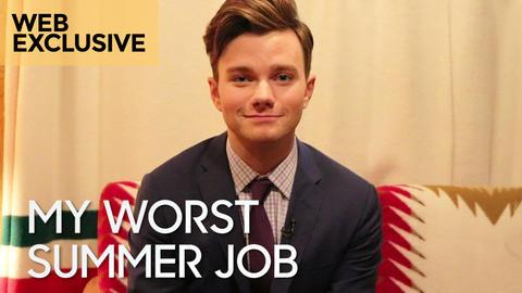 My Worst Summer Job: Chris Colfer