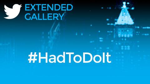 Hashtag Gallery: #HadToDoIt