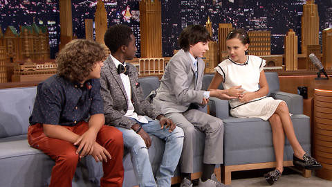 The Stranger Things Kids on Screen Tests and Shaved Heads