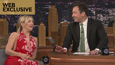"During Commercial Break: Kate Hudson and Jimmy Sing ""Hold On"""