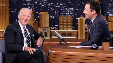 Jimmy Owes Vice President Joe Biden Some Royalties