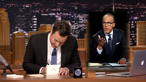 Thank You Notes: Lester Holt, Rakes