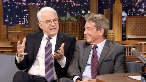 Martin Short and Steve Martin Recall First Meeting on ¡Three Amigos! Set