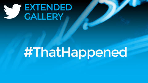 Hashtag Gallery: #ThatHappened