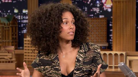 Alicia Keys' Massive Times Square Takeover
