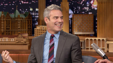 Andy Cohen Has a Couple of Stories About Jimmy in His Superficial Book