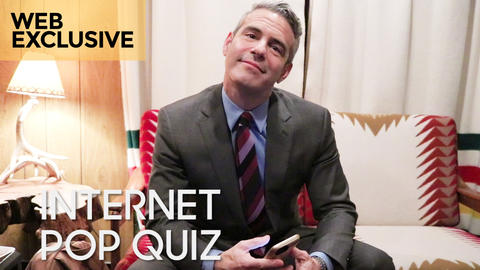 Internet Pop Quiz with Andy Cohen