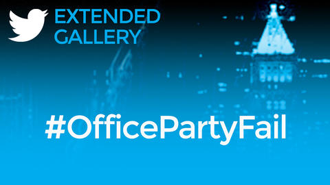 Hashtag Gallery: #OfficePartyFail