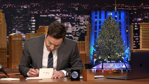 Thank You Notes: Rockefeller Center Christmas Tree, Advent Calendars
