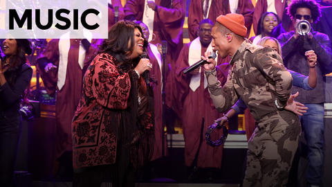 Pharrell Williams and Kim Burrell: I See a Victory