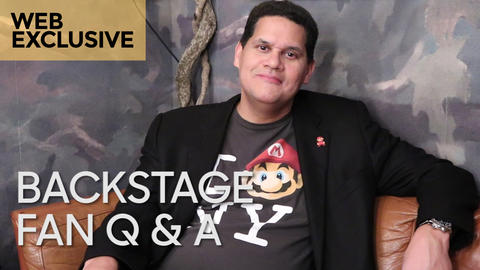 Reggie Fils-Aimé: Backstage Fan Q&A