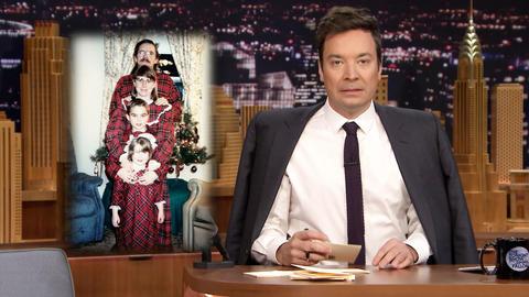 Thank You Notes: Donald Trump, Family Holiday Photos
