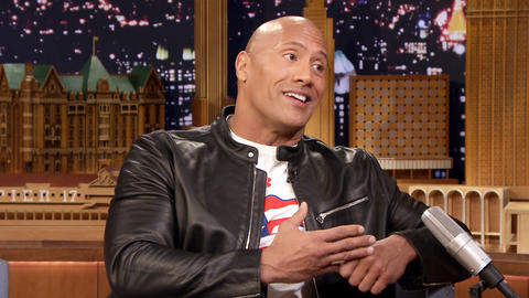 Dwayne Johnson Channels Elvis to Pay Tribute to American Troops