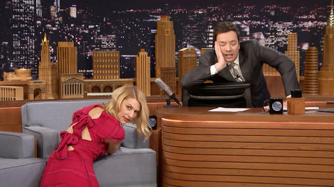 Claire Danes Is a Chair Modeling Master