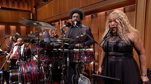 "Audience Suggestion Box: New Tonight Show Theme Song, ""Slap Yo Weave Off"""