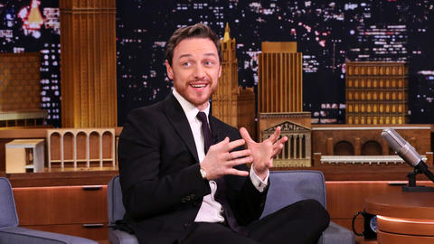 An X-Men Fan Sculpted James McAvoy Out of Balloons