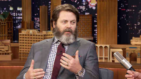Nick Offerman Adds a Little Dance to The Founder