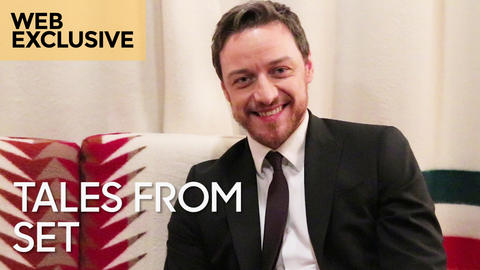 "Tales from Set: James McAvoy on ""Split"""