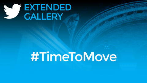 Hashtag Gallery: #TimeToMove