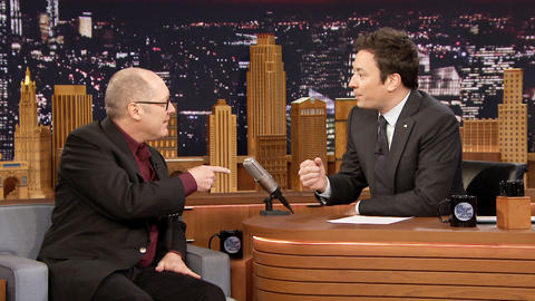 James Spader and Jimmy Make a Knicks and Jazz Date