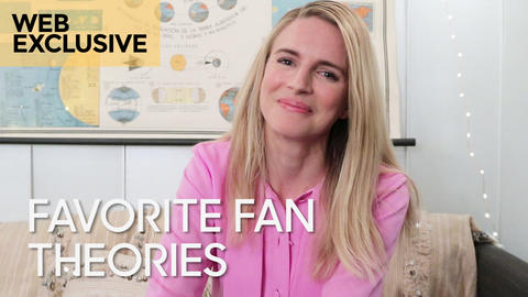 "Fave Fan Theories: Brit Marling on ""The OA"""