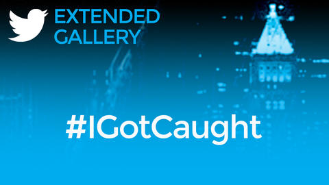 Hashtag Gallery: #IGotCaught