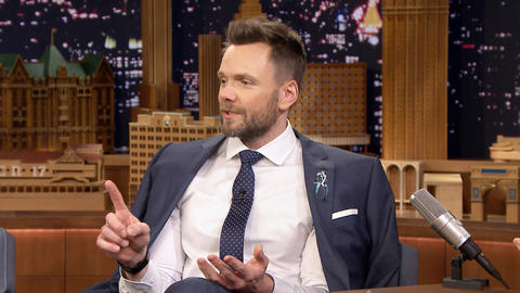 Joel McHale Sliced His Fingertip Off Filming The Great Indoors