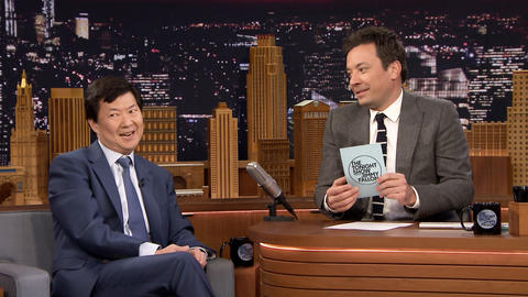 "Jimmy Learns Odd Facts About Ken Jeong with a Round of ""So Jeong or So Wrong"""