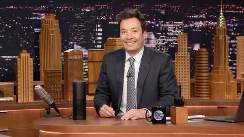 Jimmy Reveals a Few of Tonight Show's Alexa Skill Easter Eggs