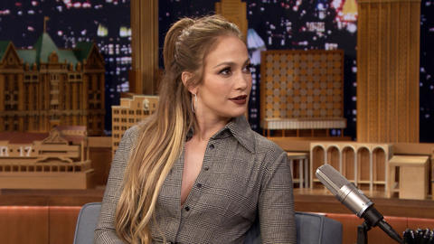 Jennifer Lopez Is Unrecognizable to Herself in Shades of Blue