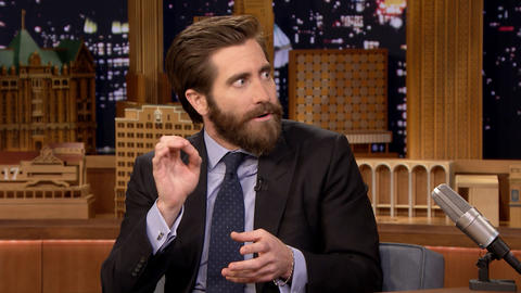 Jake Gyllenhaal Shows Off His Tongue Twisty Broadway Musical Singing