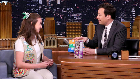 Jimmy Buys Record-Breaking Box of Girl Scout Cookies