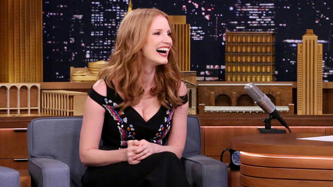 Jessica Chastain Wound Up Covered in Elephant Snot for Zookeeper's Wife