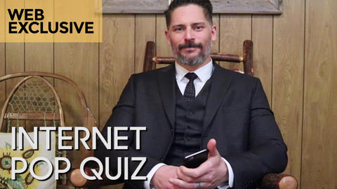 Internet Pop Quiz with Joe Manganiello