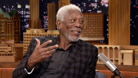 Morgan Freeman Gives Jimmy a Hot Blues Recommendation