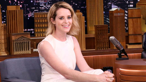 Claire Foy Was Bad at Looking Happy After Winning a Golden Globe