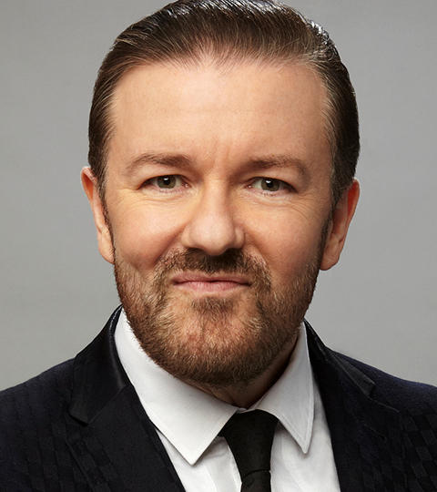 Ricky Gervais Guests on The Tonight Show Starring Jimmy ...