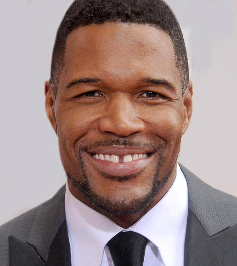 Michael Strahan Guests On The Tonight Show Starring Jimmy