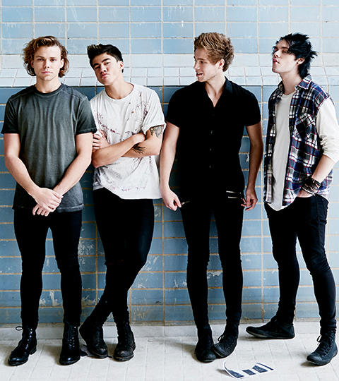 Seconds of Summer Guests on The Tonight Show Starring Jimmy Fallon ... Adam Sandler
