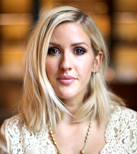 Ellie goulding guests on the tonight show starring jimmy fallon nbc