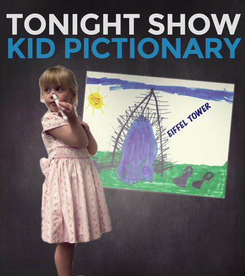 Submit to Tonight Show Kid Pictionary