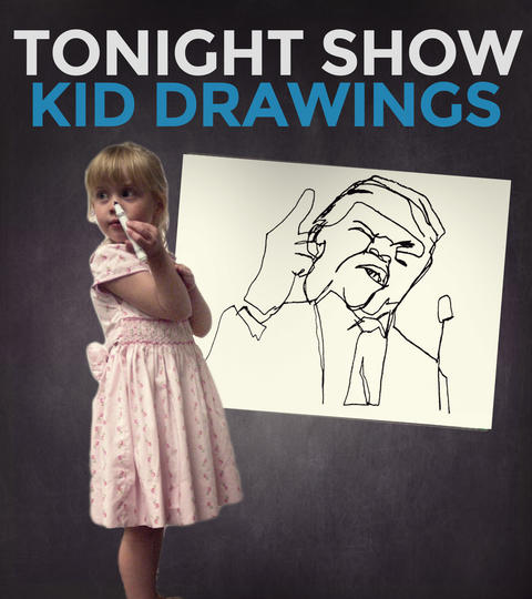 Submit to Tonight Show Kid Drawings