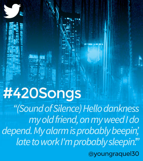 Hashtags: #420Songs with Brad Paisley