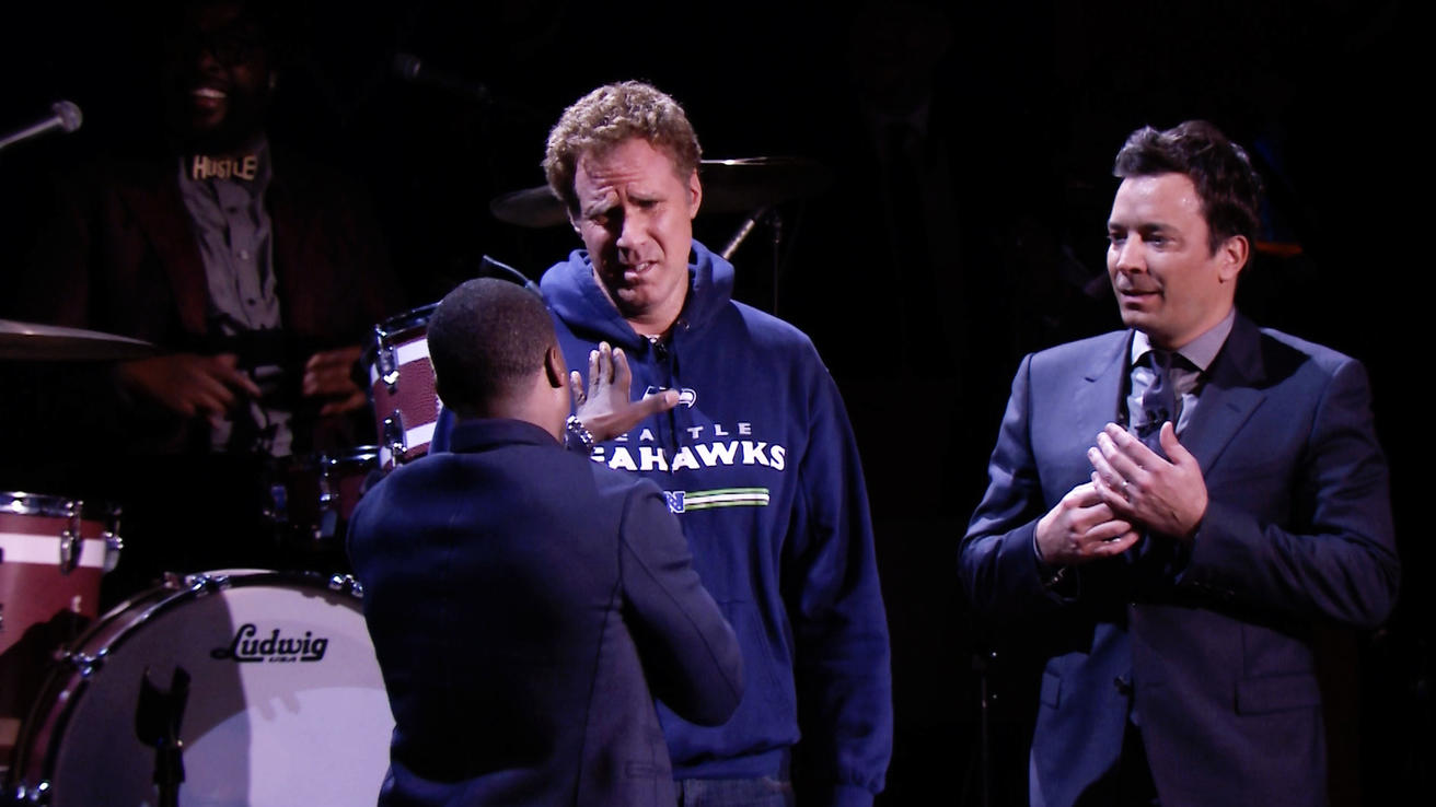 Jimmy fallon lip sync battle with will ferrell kevin hart and jimmy