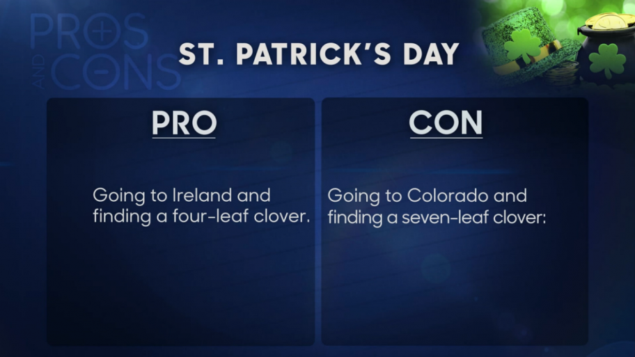 Gallery: Pros and Cons of St. Patrick's Day 2014 - The ...