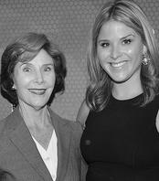 Mrs. Laura Bush & Jenna Bush Hager