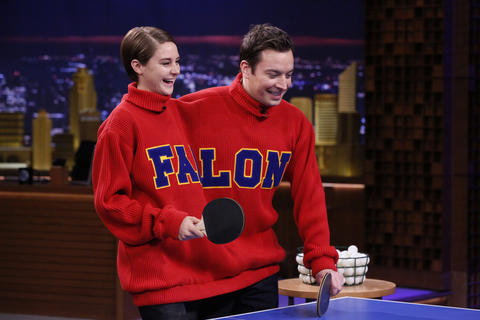 Double Turtleneck Ping Pong with Shailene