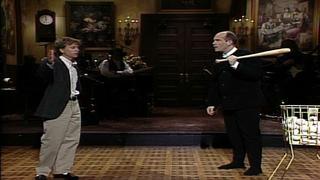 monologue john malkovich swings a baseball bat - John Malkovich Snl Christmas