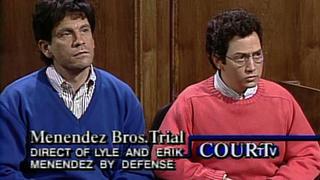 the menendez trial - John Malkovich Snl Christmas